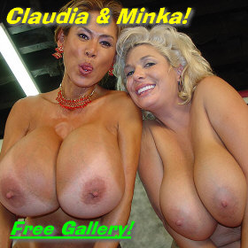 Claudia Marie and Minka