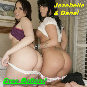 Butt Babes Jezebelle and Dana
