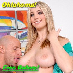 Pornstar Oklahoma - natural tits